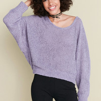 Kimchi Blue Theo Fuzzy Dolman Pullover Sweater | Urban Outfitters
