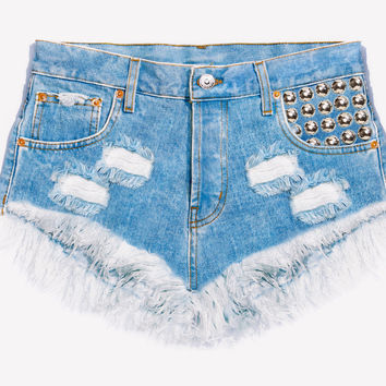 450 Stone Cut Off Babe Shorts