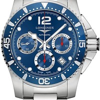Longines HydroConquest Automatic Chronograph Blue Dial Stainless Steel Watch 37444966