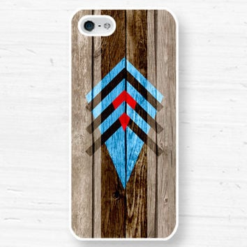 iPhone 5 4 geometric Monogram Case  aztec navajo by CaseOfIdentity