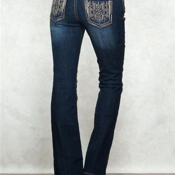 Dakota Flare Copper Premium Jeans