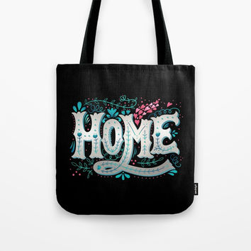 Home Tote Bag by MIKART
