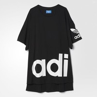adidas Women's Rita Ora Mystic Moon Tee Dress - Black | adidas Canada