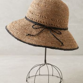 Aiya Floppy Hat by Anthropologie in Neutral Size: One Size Hats