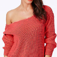 Cupshe Shrug it Off Candy Color Sweater
