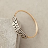 Amour Banner Ring by Workhorse