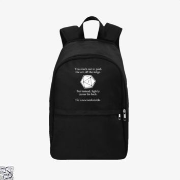 Dungeons And Dragons D20 Roll, Dragon And Dungeon Backpack