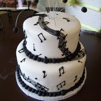 Pin Music Birthday Cake Cake on Pinterest