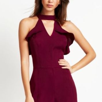 Buy Fashion Union Frill Playsuit online today at Next: Deutschland