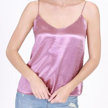 Satin Cami Top