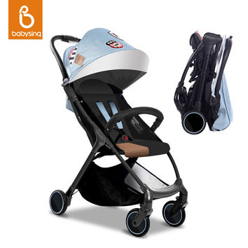 Folding Baby Stroller Portable Pushchair for Travel Lightweight Newborn Baby Carriage 4.9kg 5 Gifts