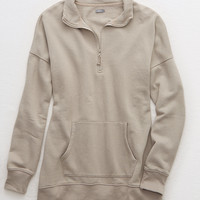 Aerie Fleece Quarter Zip , Terrace