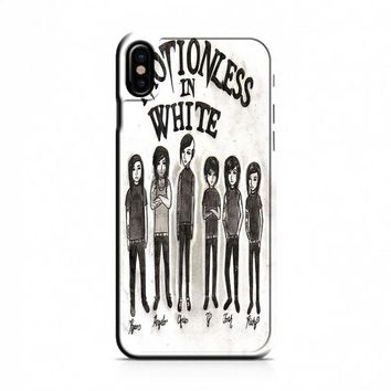 Motionless In White (monster cartoon) iPhone X Case
