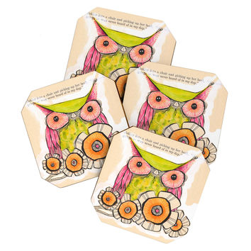Cori Dantini Miss Daisy Coaster Set
