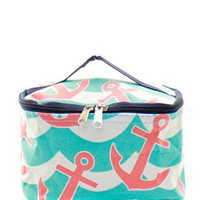 Anchor Splash Small Cosmetic Bag
