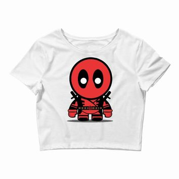 deadpool Crop Top