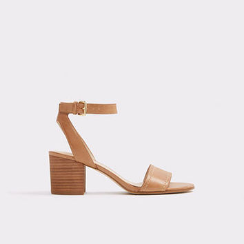 Lolla Cognac Women's Block heels | ALDO US