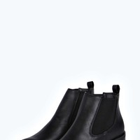 Poppy Pointed Block Chelsea Boot