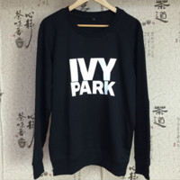 """ ivy park"" letter print  sweater B0014790"