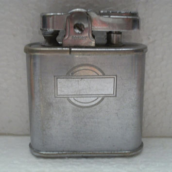 Antique 1941-42 Ronson Whirlwind Lighter pat 19023 Signed Ronson on 3 spots