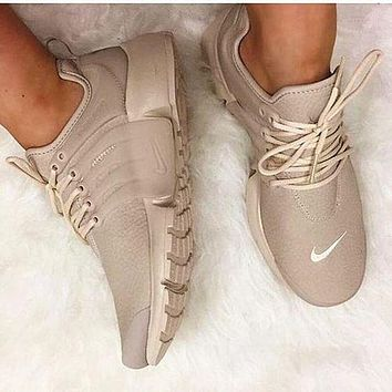 NIKE Air Presto White Small Hook NIKE Air Presto Khaki Fashion Women/Men Running Sport Casual Cushion Shoes Sneakers Nude F-AA-SDDSL-KHZHXMKH