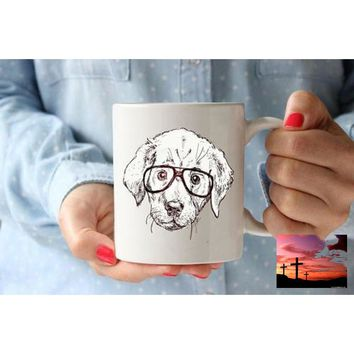 Labrador Gift For Kids Coffee Lovers Gift Mug