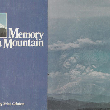 Memory of a Mountain Mt St Helens Volcano Eruption Explosion Brochure KFC Kentucky Fried Chicken Pictorial Leaflet Rare Promotional Ephemera