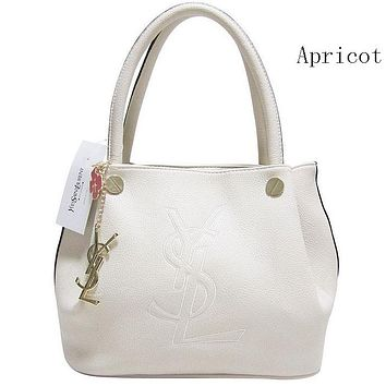 YSL Yves Saint Laurent female delicate hipster leather handbag shoulder bag F-MYJSY-BB Apricot