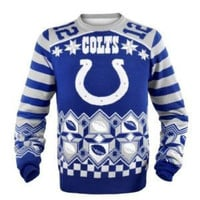 INDIANAPOLIS COLTS ANDREW LUCK OFFICIAL NFL UGLY SWEATER