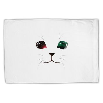 Adorable Space Cat Standard Size Polyester Pillow Case by TooLoud