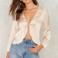 Seven Wonders Satin Top