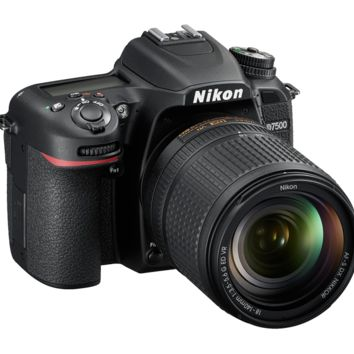 Nikon D7500 DSLR | 20.9 MP DX Format Digital SLR Camera