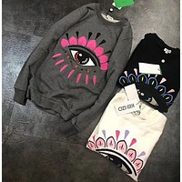 KENZO Fashion Casual Long Sleeve Sweater Pullover Sweatshirt
