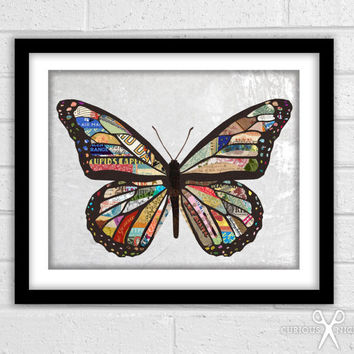 Spread Your Wings  Fine Art Collage Print  by TheCuriousNickel