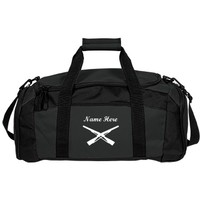 Color Guard Rifles: Custom Port & Company Gym Duffel Bag - Customized Girl