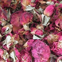 Red Rose Buds and Petals . Herbal Alchemy . One Ounce . For Love, Attraction, Protection, Healing, Psychic Vision, Divination, Luck