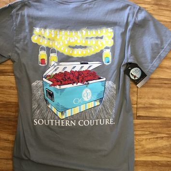 Southern Couture Crawfish Party T-Shirt