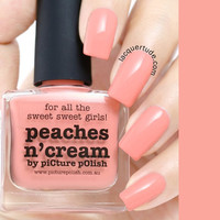 Picture Polish Peaches N Cream Nail Polish