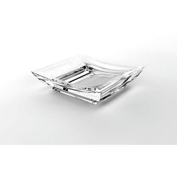 Lux Firenze Free Standing Acrylic Soap Dish Holder Tray Soap Holder