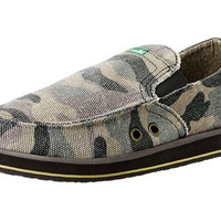 Sanuk Pick Pocket Camo Sidewalk Surfer Shoes