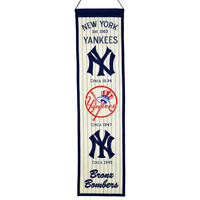 New York Yankees MLB Heritage Banner (8x32)