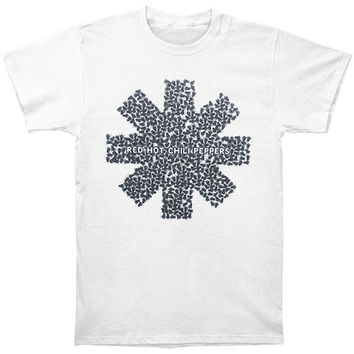 Red Hot Chili Peppers Men's  Fly Asterisk Slim Fit T-shirt Blue Rockabilia