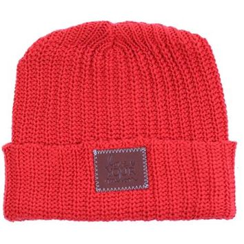 Red Cuffed Beanie - Love Your Melon