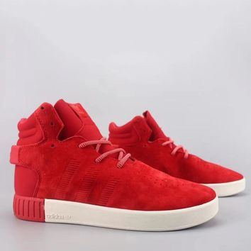 Adidas Tubular Invader Strap Fashion Casual High-Top Old Skool Shoes-19