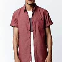 Modern Amusement Vance Woven Shirt - Mens Shirt - Red