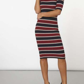 Stripe Bodycon Dress - View All New In - New In