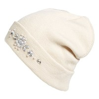 Women's Betsey Johnson 'Gem' Beanie
