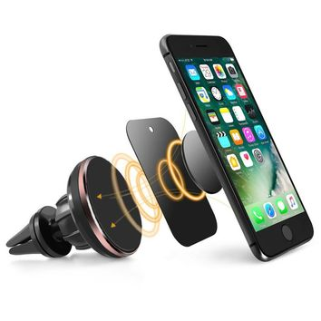 Car-Styling 2017 For Phone in Car Universal Cell Phone GPS Air Vent Magnetic Car Mount Cradle Holder