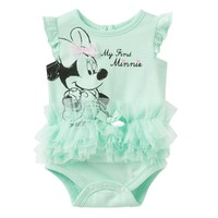 Disney's Minnie Mouse ''My First Minnie'' Tutu Bodysuit - Baby Girl, Size: