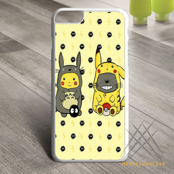 Totoro and Pikachu Custom case for iPhone, iPod and iPad